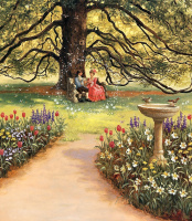 Рут Сандерсон. В саду