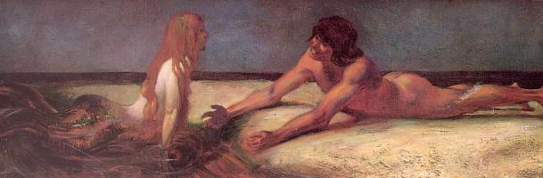 Franz von Stuck. Mermaid