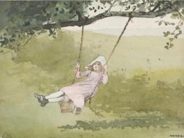 Winslow Homer. Swing