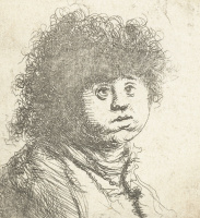 Ян Ливенс. Портрет ребенка