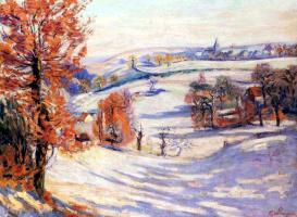Арман Гийомен. Снег в Крозане