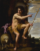 Джованни Бальоне (Баглионе). Святой Иоанн Креститель в пустыне