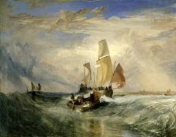 Джозеф Мэллорд Уильям Тёрнер. Пассажиры поднимаются на борт (Па-де-Кале)