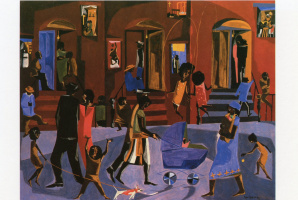 Jacob Lawrence. The great migration