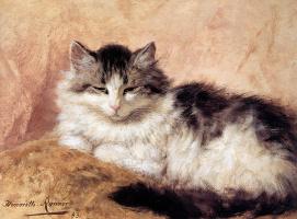 Генриетта Роннер-Книп. Дремлющий кот