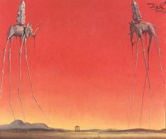 Salvador Dali. Elephants