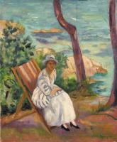 Henri Manguin. Jeanne lounger