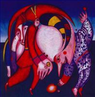 Михаил Шемякин. Танцы с фруктами