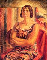 Джон Слоан. Женщина с крещенными руками