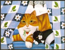 Диана Джексон. Рыжий кот