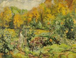Юзеф Мехоффер. Заросший сад