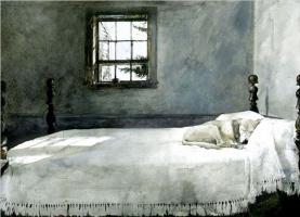 Andrew Wyeth. Master bedroom