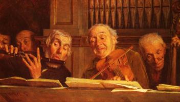 Гаэтано Беллеи. Пять членов оркестра
