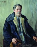Иван Семенович Куликов. Автопортрет. 1939