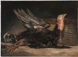 Francisco Goya. Dead Turkey