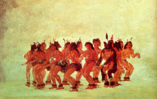 Джордж Катлин. Танцы