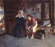 Абрам Ефимович Архипов. Посещение больной