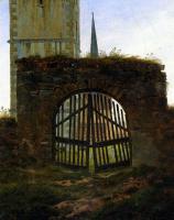Каспар Давид Фридрих. Кладбищенские ворота