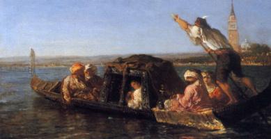 Феликс Зием. Венецианская лагуна