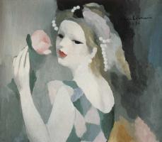 Мари Лорансен. Женщина с розой