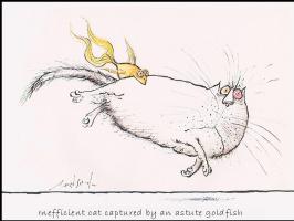 Рональд Серл. Золотая рыбка