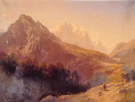 Герман Оттомар Герцог. Альпы