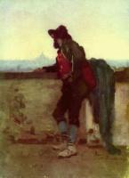 Николае Григореску. Итальянец на холме Пинчо