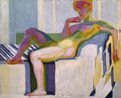 Frantisek Kupka. Reclining Nude