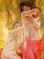 Paul Albert Benar. Under the willows