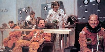 Джон Соли. Подготовка космонавтов