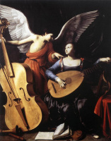 Карло Сарачени. Святая Цецилия и ангел