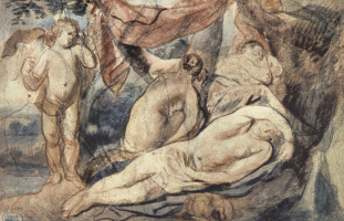 Якоб Йорданс. Спящая Венера