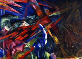Franz Marc. The fate of the animals