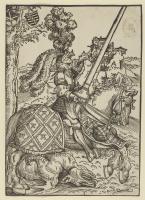 Lucas Cranach the Elder. Saint George on horseback