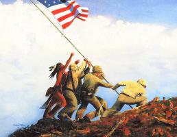 Урчел Тейлор. Флаг Америки