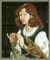 Робин Вуд. Девушка с драконом