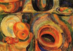 Sonia Delaunay. Portuguese still life