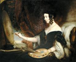 Кристина Робертсон. Портрет Мэри Милнес Гаскелл.