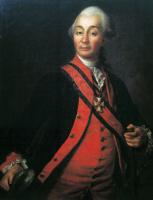 Дмитрий Григорьевич Левицкий. Портрет Александра Васильевича Суворова