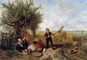 Йохан Мари Тен Кейт. Пикник