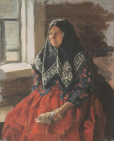 Иван Семенович Куликов. Старушка из Нежиловки. 1898
