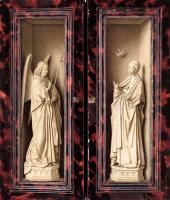 Ян ван Эйк. Дрезденский триптих (в закрытом виде)