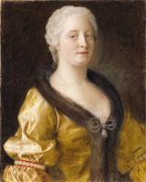 Жан-Этьен Лиотар. Мария Терезия в платье с меховой оторочкой
