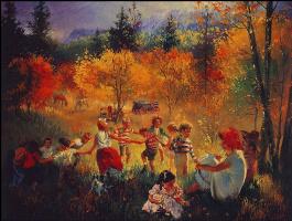 Стивен Юхарос. Осенние забавы