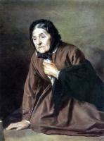 Василий Григорьевич Перов. Старушка