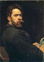 Фердинанд Ходлер. Мужской портрет