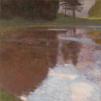 Gustav Klimt. Morning on the pond in the Park of Kammer Palace