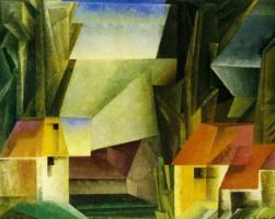 Lionel Feininger. Garden hop