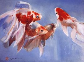 Чэн Чи. Золотые рыбки