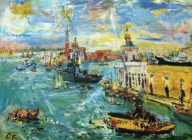 Oskar Kokoschka. Venice, Dogana